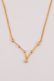 Tai Pisces Zodiac Necklace - Side cropped