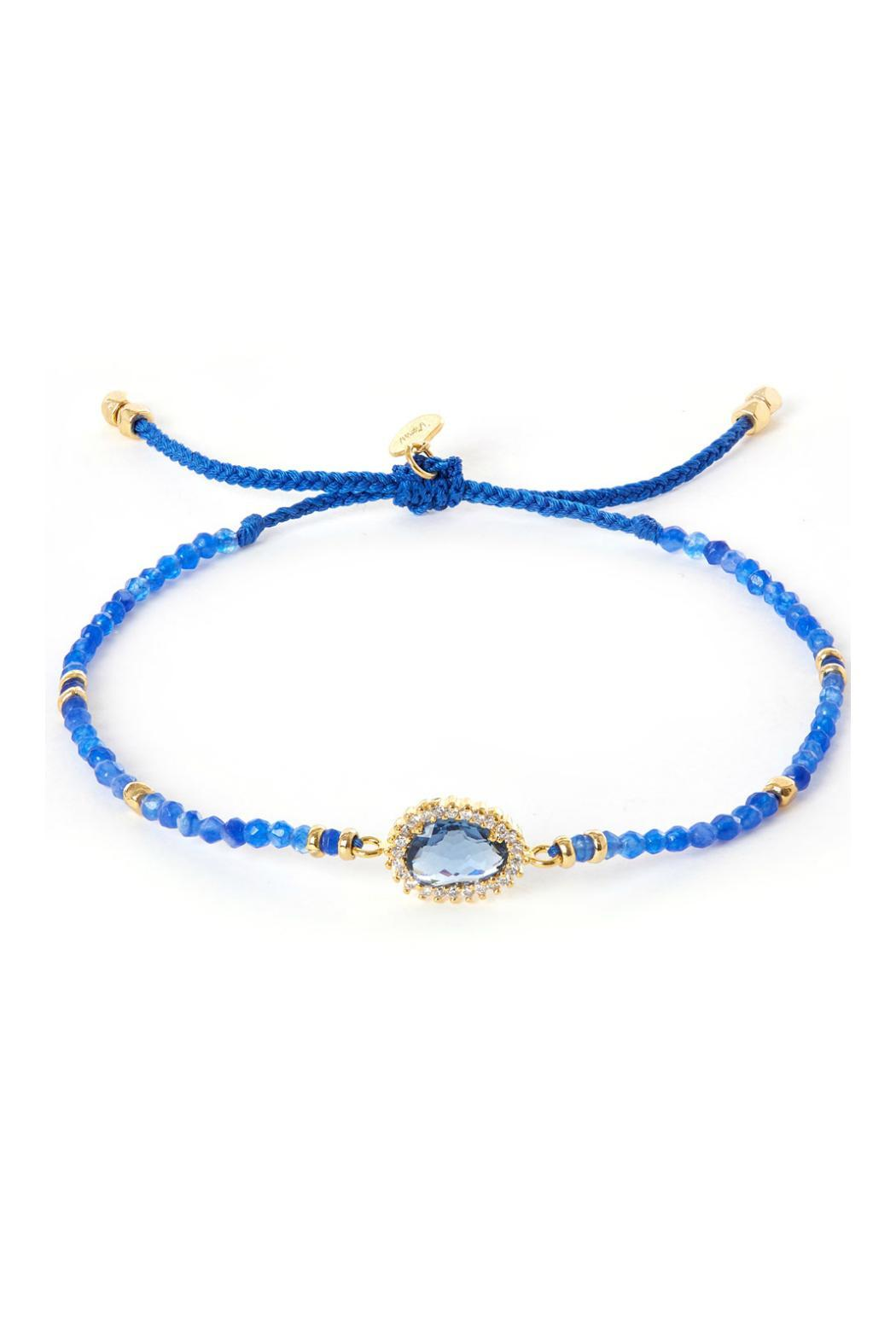 Tai Jewelry Blue Bracelet Front Cropped Image