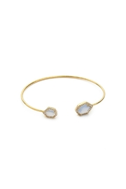 Tai Jewelry Hexagon Pave Bangle - Product Mini Image