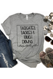 Lyn -Maree's Tailgates Tackles And Touchdowns - Product Mini Image