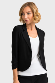 Joseph Ribkoff  Tailored Black Blazer - Product Mini Image
