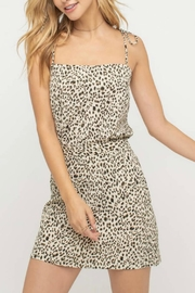 Pretty Little Things Tailored Leopard Skirt - Side cropped