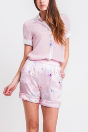 Sophie Cameron Davies Tailored Silk Short - Product Mini Image