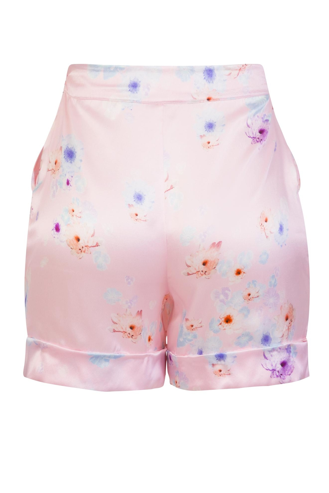 Sophie Cameron Davies Tailored Silk Short - Side Cropped Image