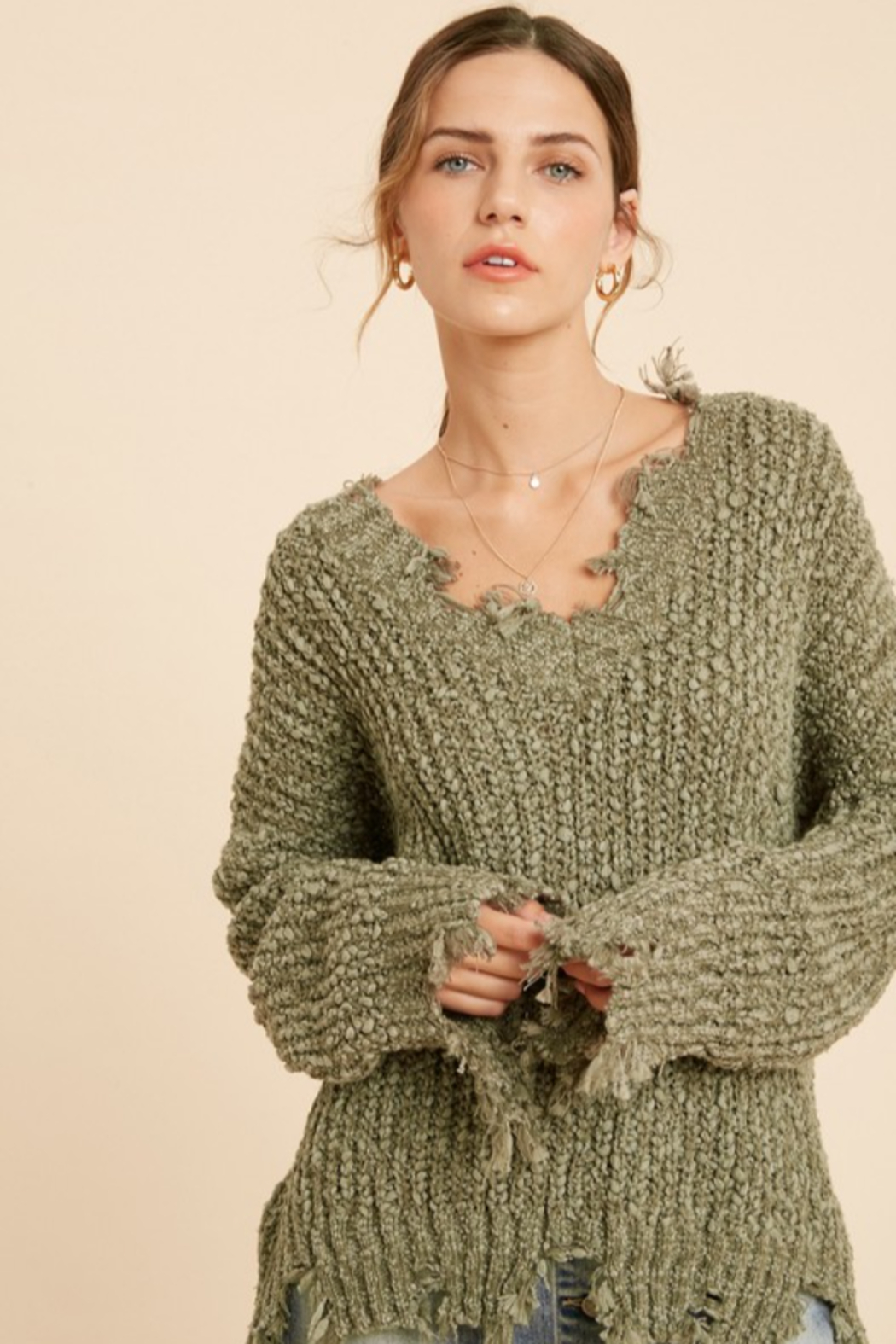 Wishlist  Tainted Love Sweater - Front Full Image
