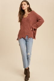 Wishlist  Tainted Love Sweater - Front cropped