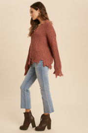 Wishlist  Tainted Love Sweater - Side cropped