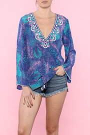 Taj by Sabrina Crippa Santorini Tunic Top - Product Mini Image