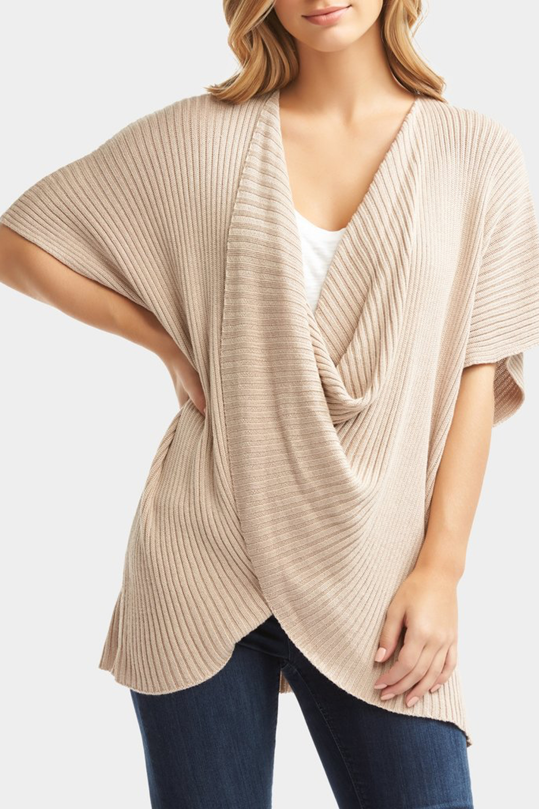 Tart Collections Taja Wrap Top - Side Cropped Image