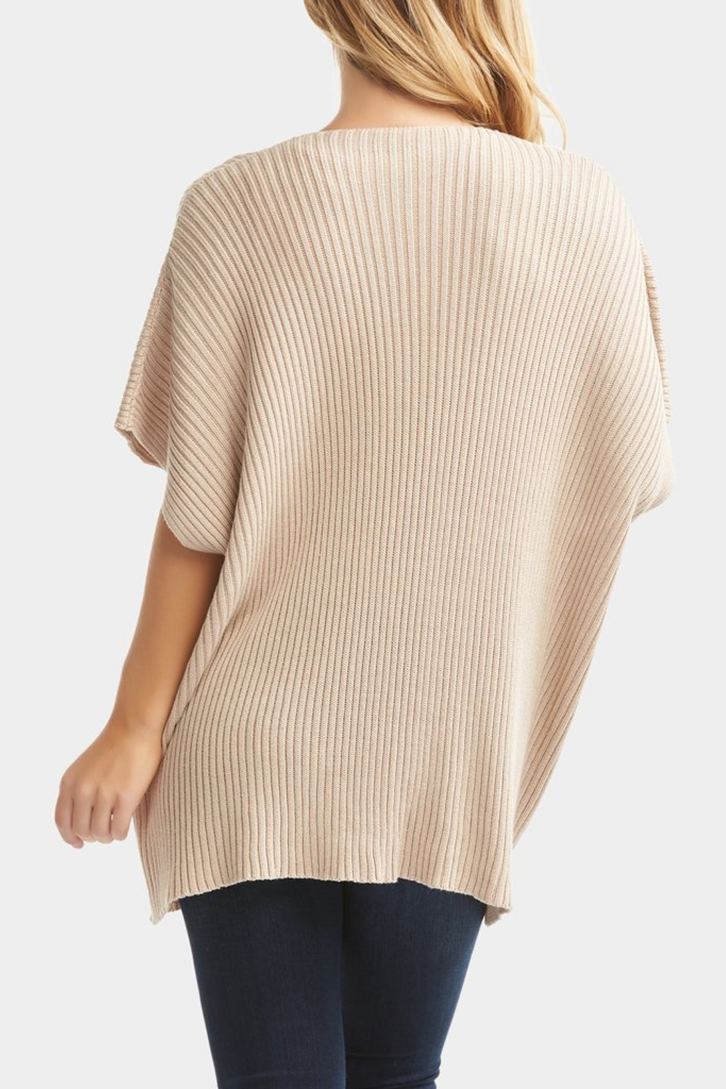 Tart Collections Taja Wrap Top - Back Cropped Image