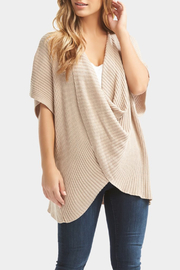 Tart Collections Taja Wrap Top - Front cropped