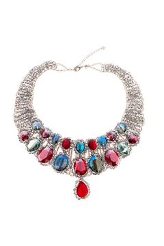 Shoptiques Product: Aldith Crystal Necklace