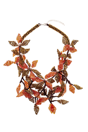 Takai by Angela Beracha Cluster Statement Necklace - Front cropped