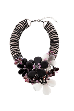Takai by Angela Pearl Statement Necklace - Product List Image