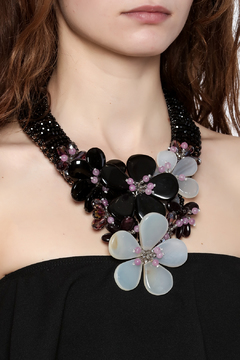 Takai by Angela Pearl Statement Necklace - Alternate List Image