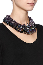 Takai by Angela Lucy Shanghai Agate Necklace - Back cropped