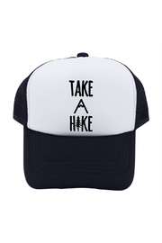 Outdoorable Apparel Take A Hike Hat - Black - Front cropped