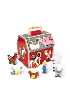 Melissa & Doug Take Along Sorting Barn - Alternate List Image