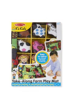 Melissa and Doug Take Along Town Play Mat - Alternate List Image