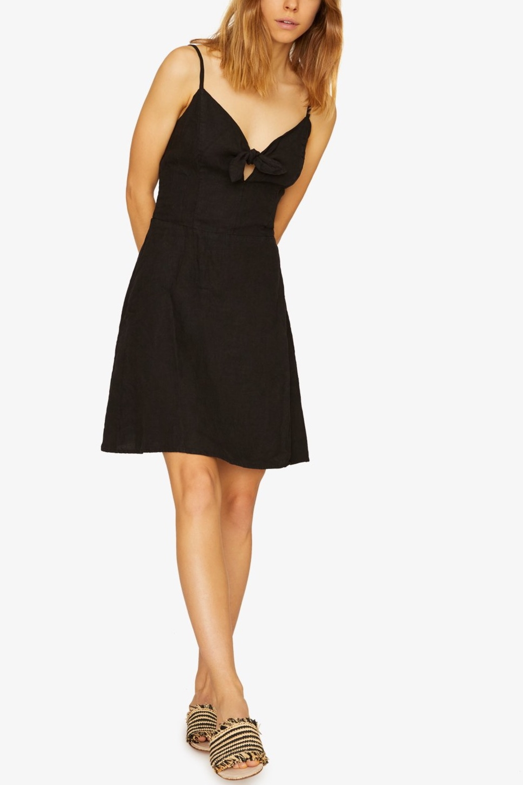 Sanctuary Take Away Tie Dress - Front Cropped Image
