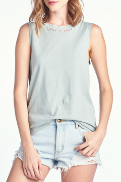 Knit Riot Take It Easy Embroidered Tank - Alternate List Image