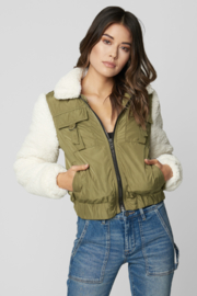 Blank NYC Take It Easy Jacket - Front full body