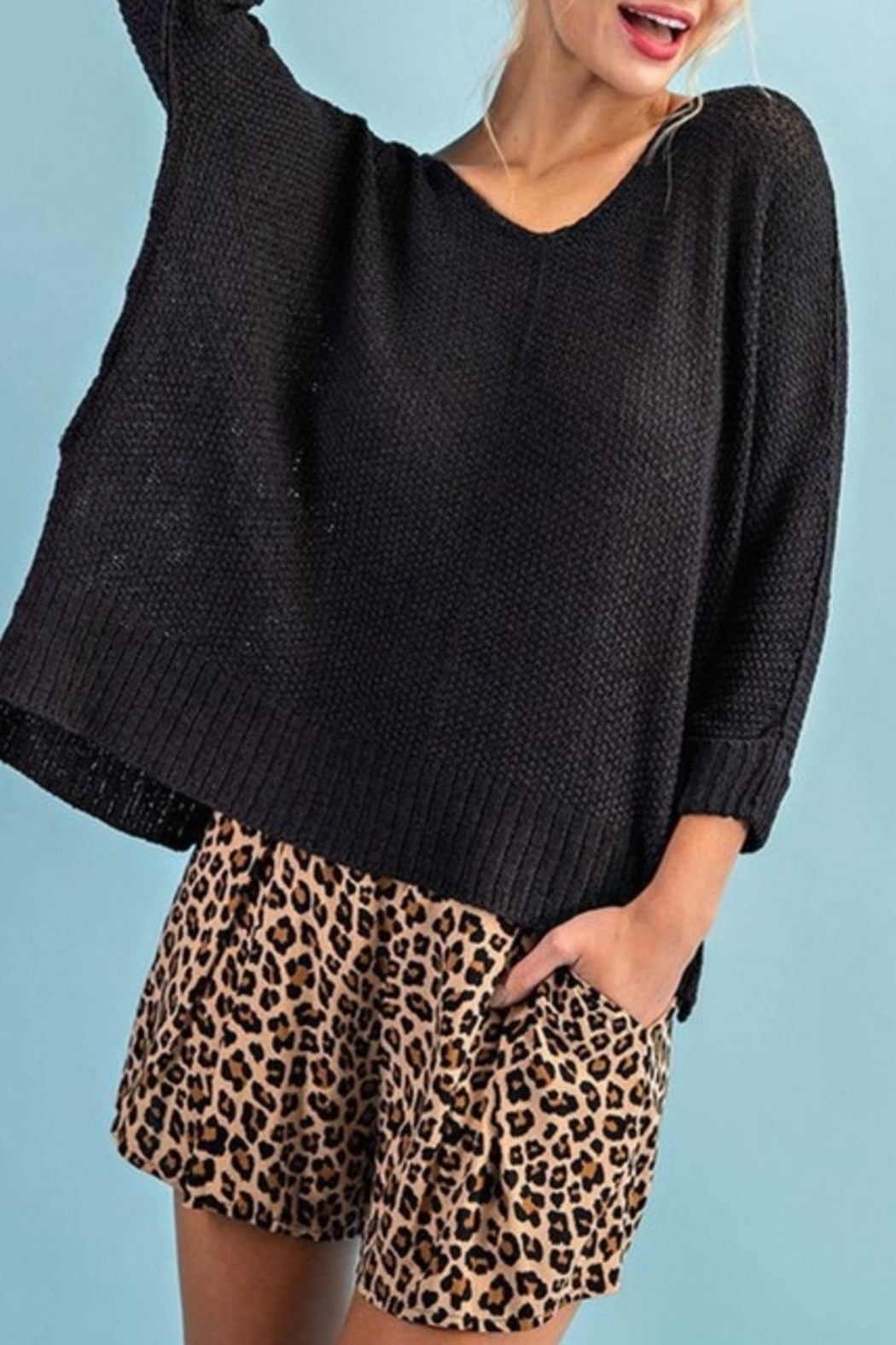 ee:some Take It Easy sweater - Front Cropped Image