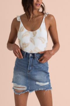 Billabong Take Risk Denim Skirt - Alternate List Image