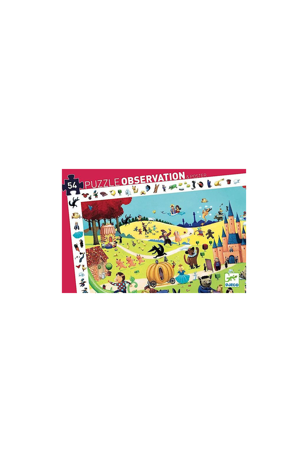 Djeco Tales 54 Piece Observation Puzzle - Main Image