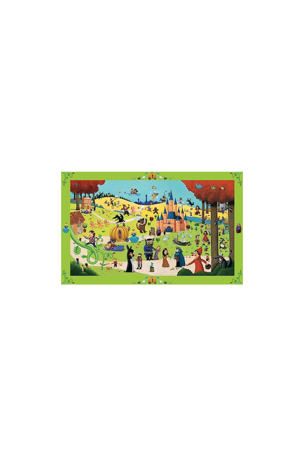 Djeco Tales 54 Piece Observation Puzzle - Side Cropped Image