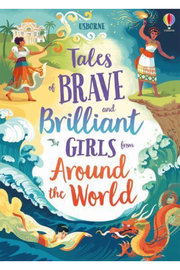 Usborne  Tales Of Brave And Brilliant Girls From Around The World - Product Mini Image