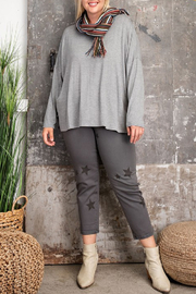 easel  Talia Tee Curvy - Front cropped