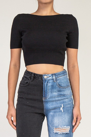 R+D  Talia X Back Top - Back cropped