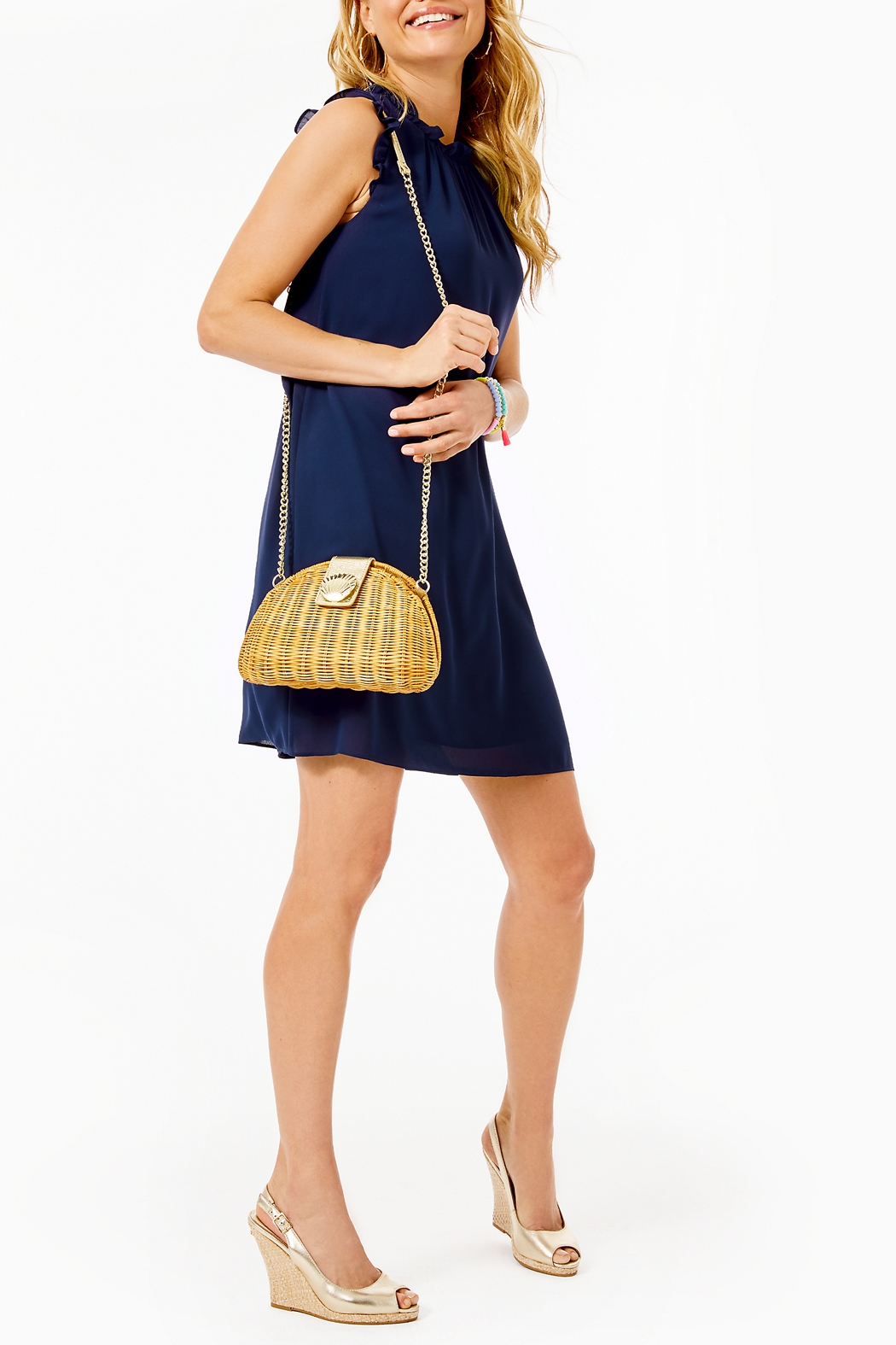 Lilly Pulitzer Talisa Dress - Back Cropped Image