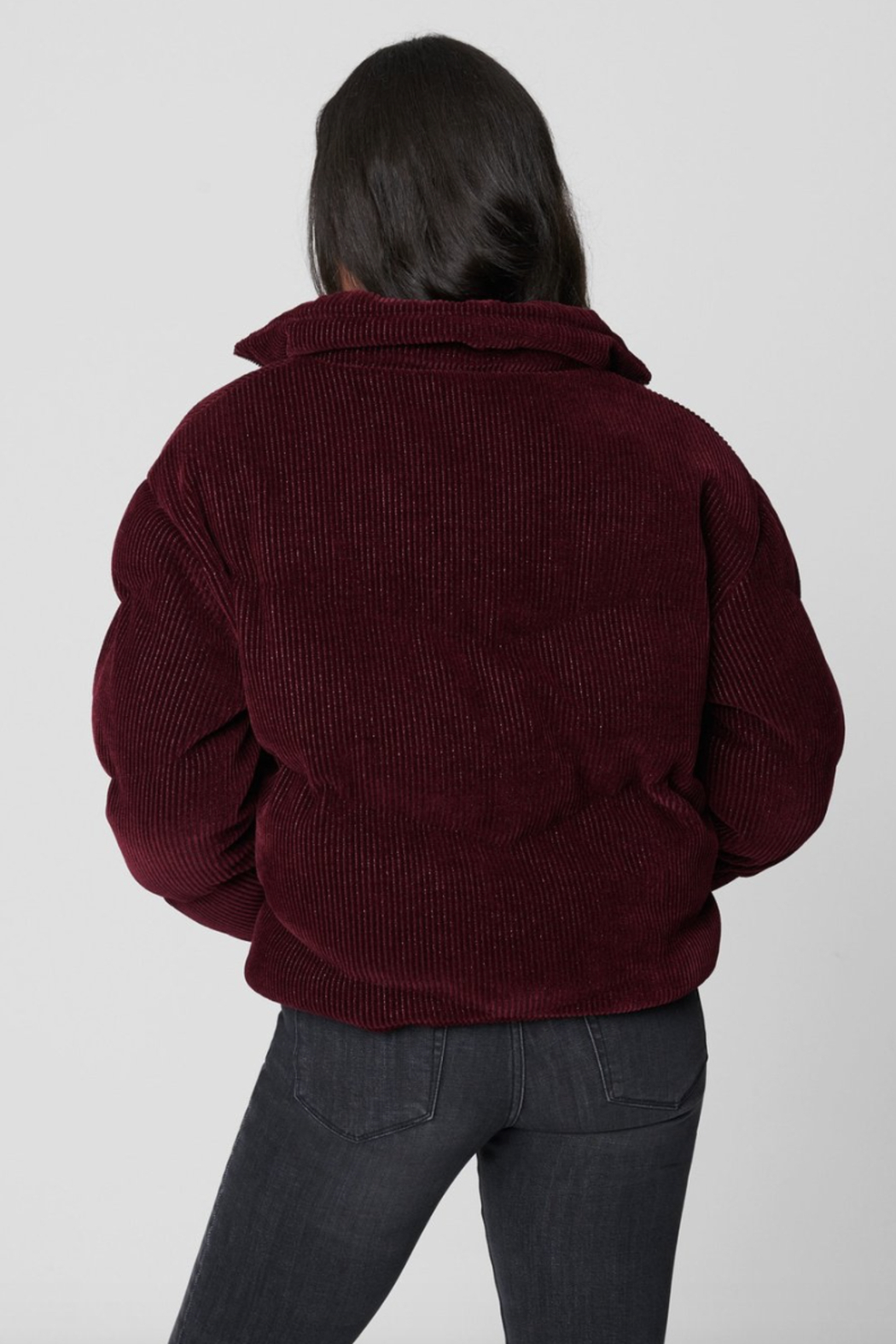 Blank NYC Talk of the Town Jacket - Back Cropped Image