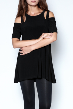Shoptiques Product: Cutworks Cold Shoulder Tunic