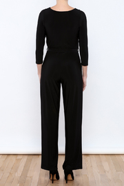 Talk of the Walk Faux Wrap Jumpsuit - Back cropped