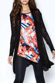 Talk of the Walk Floral Crystal Cardigan - Front cropped