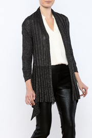 Talk of the Walk Lurex Convertible Cardigan - Product Mini Image