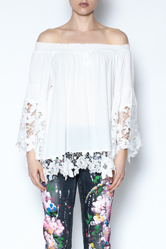 Shoptiques Product: Off The Shoulder Blouse