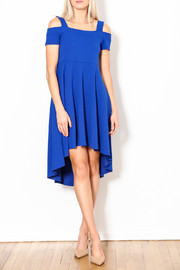 Talk of the Walk Open Shoulder Dress - Product Mini Image