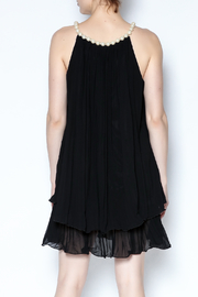 Talk of the Walk Pearl Neck Tunic - Back cropped