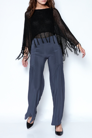 Talk of the Walk Pleated Pocket Palazzo - Front full body