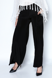 Talk of the Walk Pleated Pocket Palazzo - Front cropped