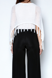 Talk of the Walk Pleated Pocket Palazzo - Back cropped