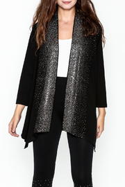 Talk of the Walk Scattered Crystals Cardigan - Front cropped