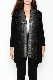 Talk of the Walk Scattered Crystals Cardigan - Front full body