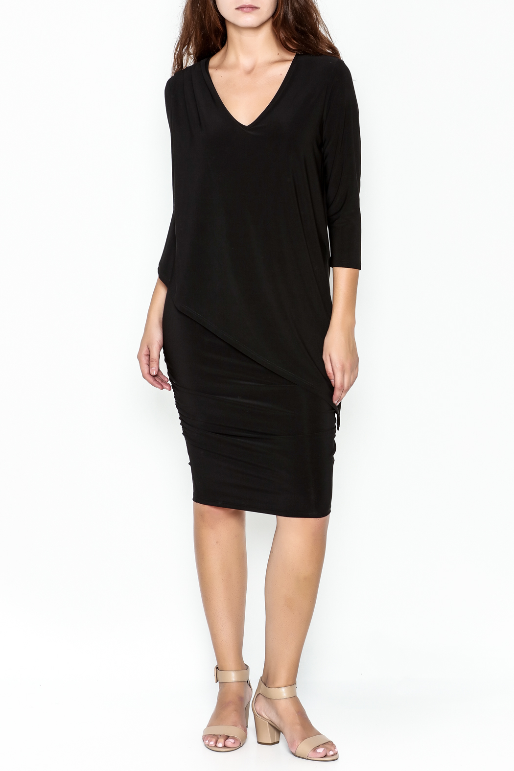 Talk of the Walk Sleeve Miracle Dress - Front Cropped Image