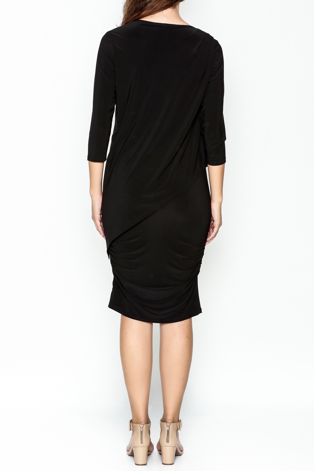 Talk of the Walk Sleeve Miracle Dress - Back Cropped Image