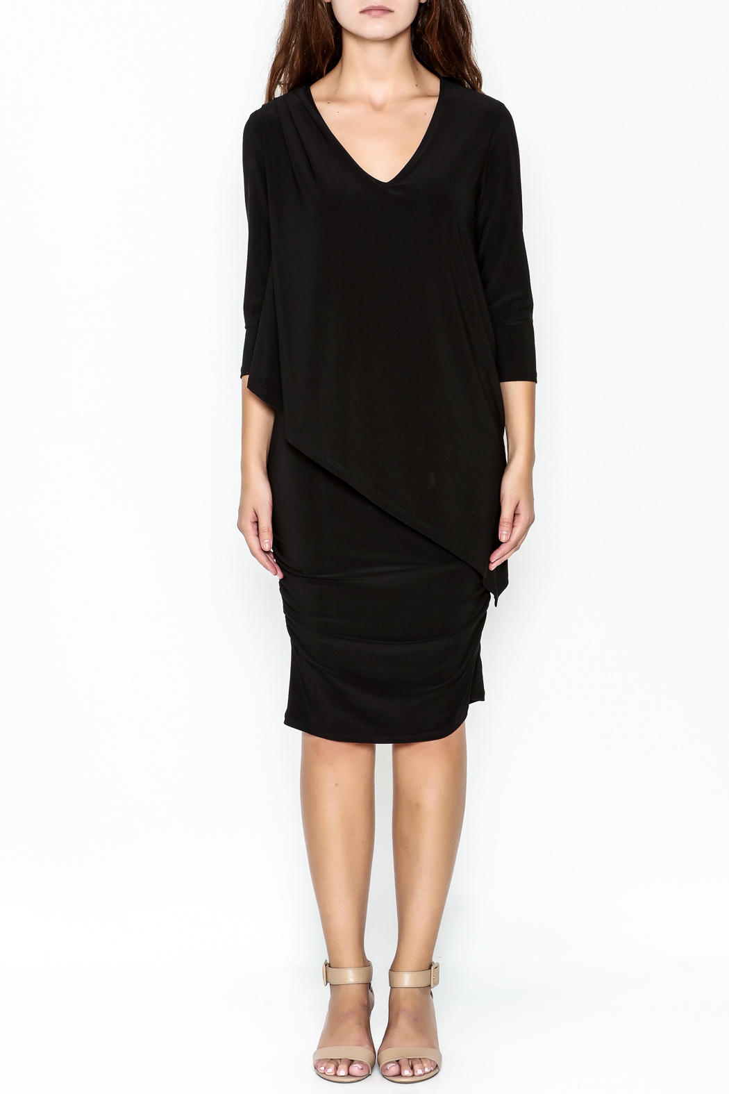 Talk of the Walk Sleeve Miracle Dress - Front Full Image